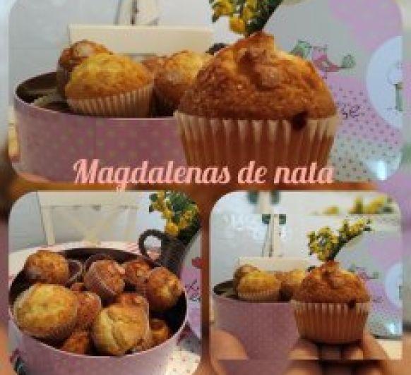 Magdalenas de nata