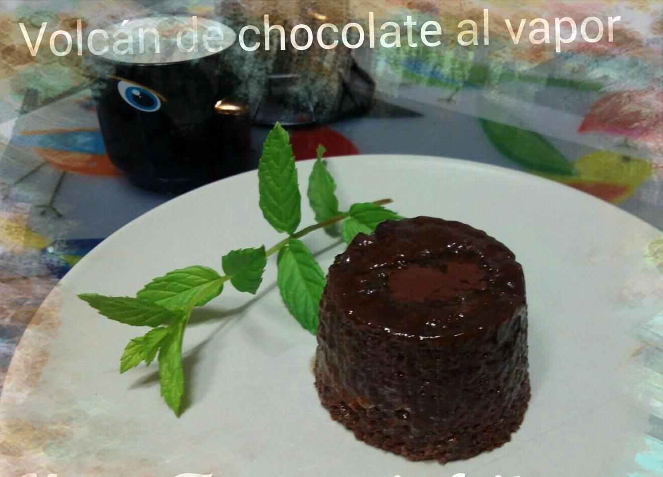 Volcán de chocolate al vapor con Thermomix® , sin gluten