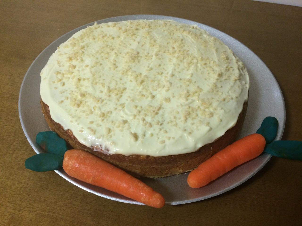 Pastel de zanahoria o Carrot Cake
