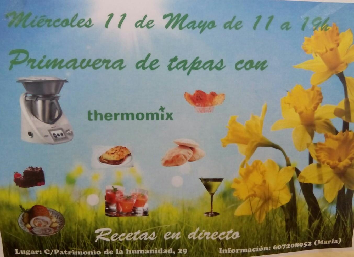 Taller de recetas continuadas de Thermomix® en Ávila