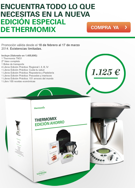 NUEVA EDICION ESPECIAL DE Thermomix®