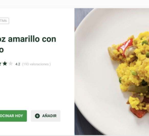 Arroz Con Pollo en Thermomix®