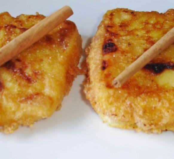 Leche frita en Semana Santa