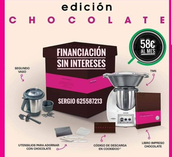 EDICIÓN CHOCOLATE AL 0% DE INTERES