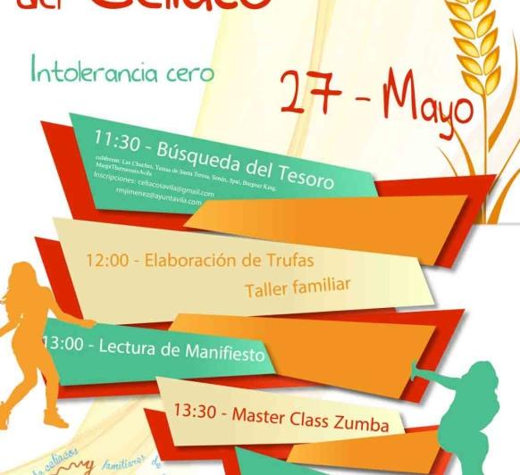Día Nacional Del Celiaco en Ávila