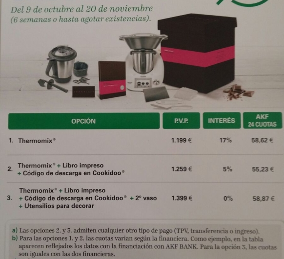 PROMOCION SIN INTERESES