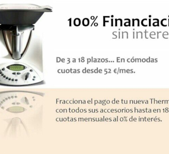 TU Thermomix® SIN INTERESES