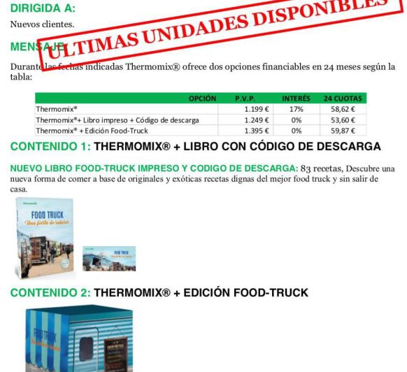 Thermomix® oferta sin intereses
