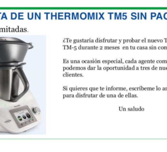 TÚ Thermomix® A 0€