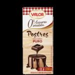 Mousse de chocolate con y sin azúcar